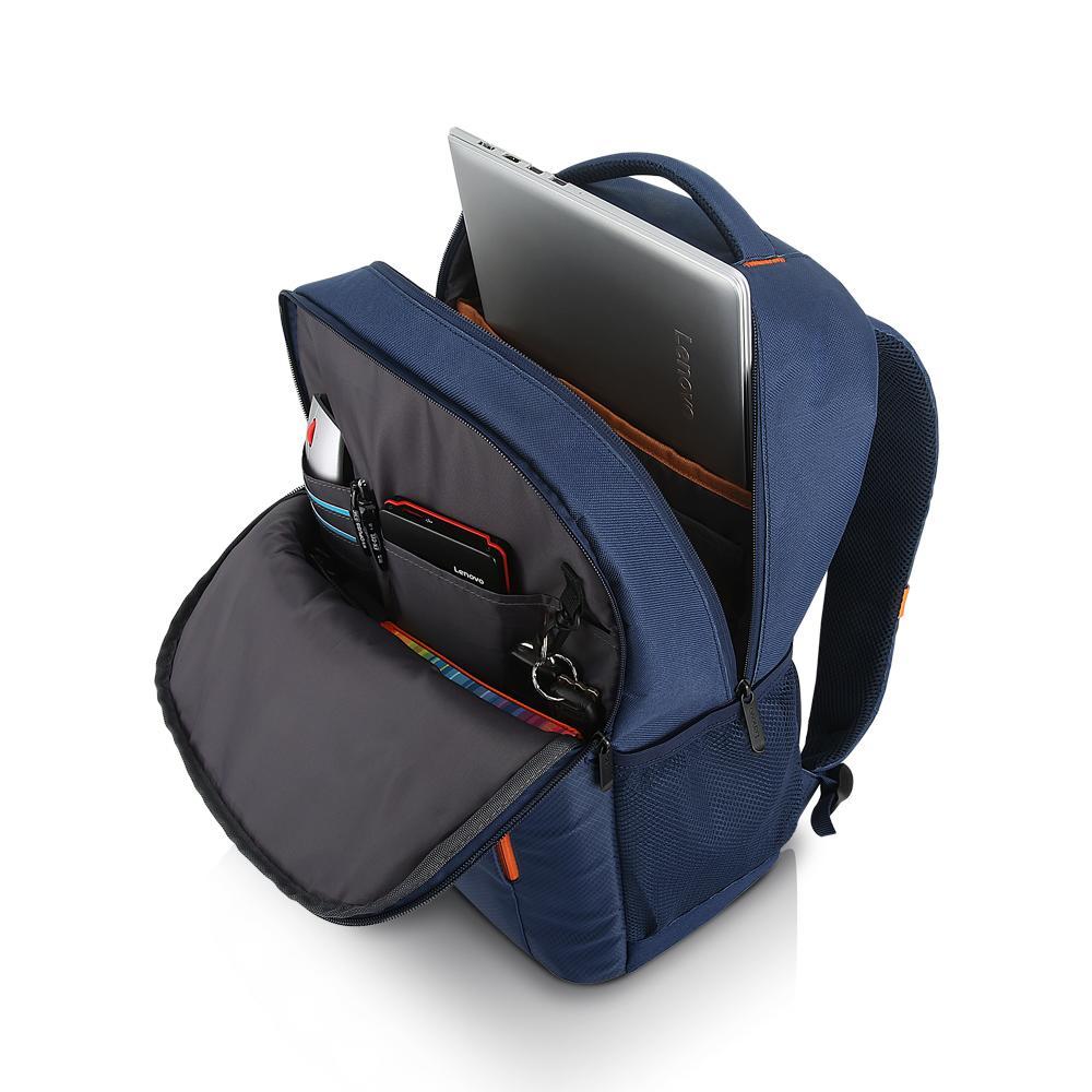 Lenovo 15.6 Laptop Everyday Backpack B515 Blue-ROW