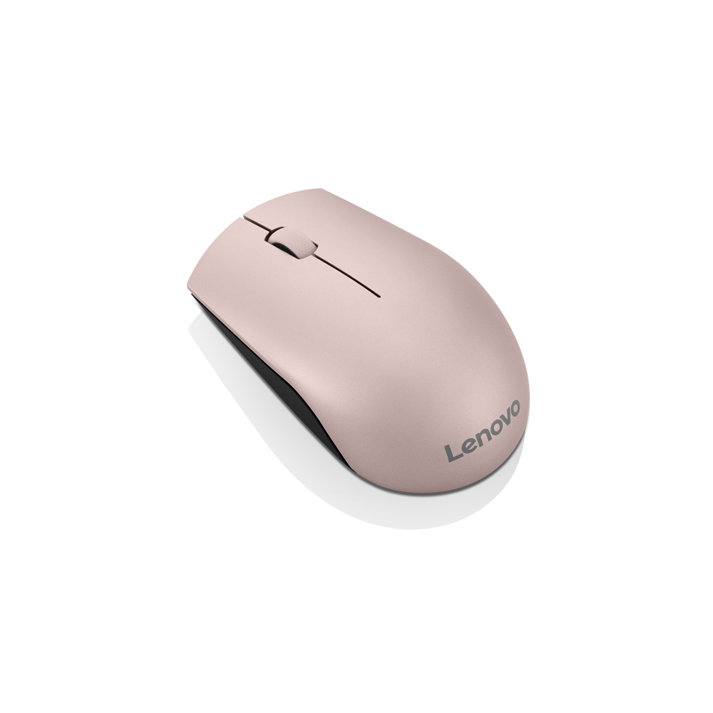 Lenovo 520 Wireless Mouse (Sand Pink)