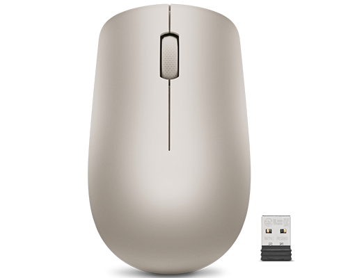 Souris sans fil Lenovo 530 (Amande)