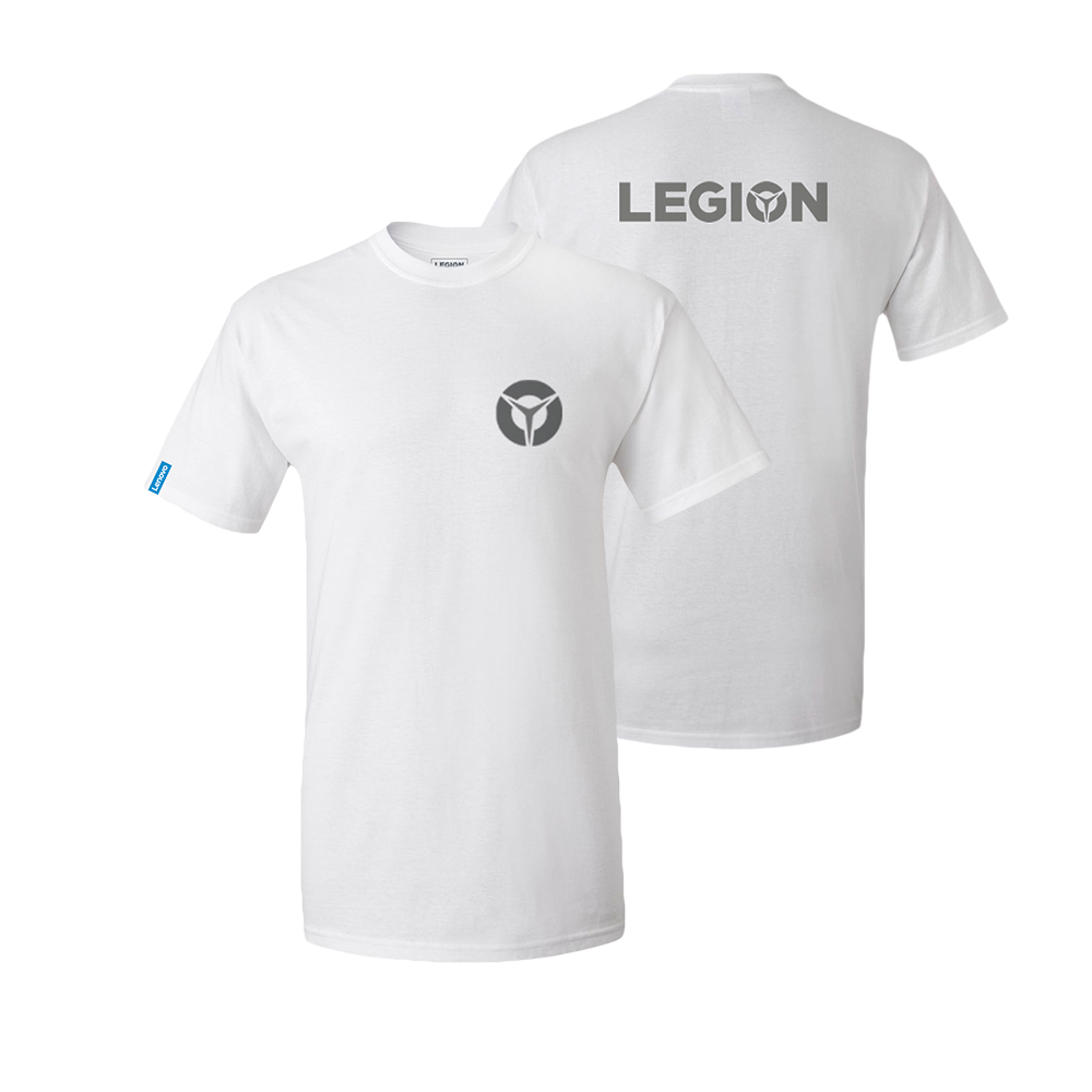 Lenovo Legion White T-Shirt - Male (L)