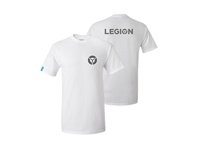 Lenovo Legion White T-Shirt - Male (S)