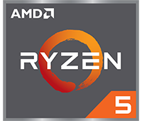 Logo AMD Ryzen 5