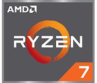 Logo AMD Ryzen 7