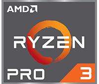 Logo AMD Ryzen Pro 3