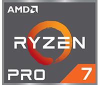 Logo AMD Ryzen Pro 7