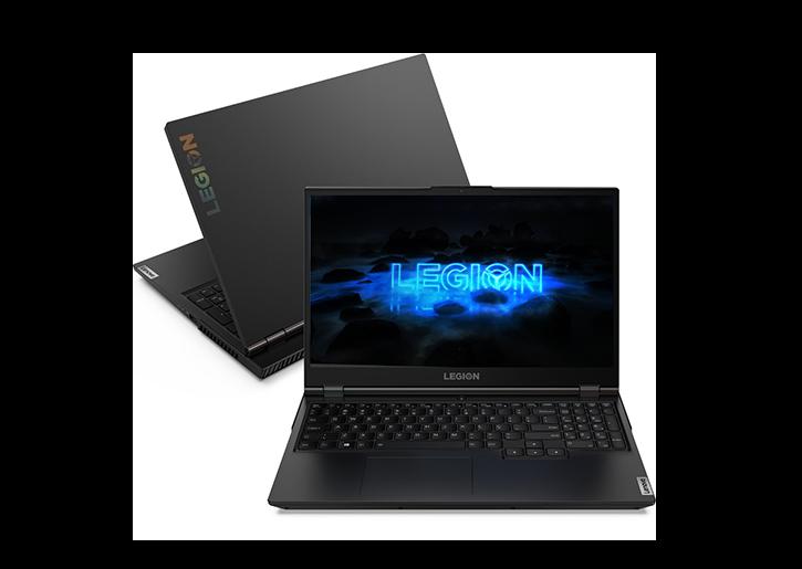 """Notebookgamer - Lenovo 82cf0005br I7-10750h 8gb 128gb Ssd Geforce Rtx 2060 Windows 10 Home Legion 5i 15,6"""" Polegadas"""