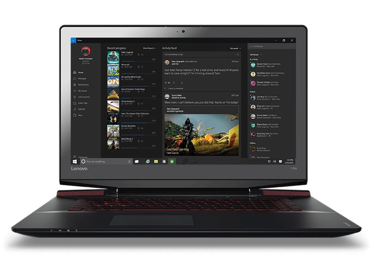"Lenovo Ideapad Y700 (17"") Part Number:  80Q000C1US 17.3"" IMMERSIVE GAMING LAPTOP 6th Generation Intel® Core™ i5-6300HQ Processor (2.30GHz 6MB) Windows 10 Home 64 8.0GB DDR4 2133 MHz 1TB 5400 RPM+128GB PCIe SSD"