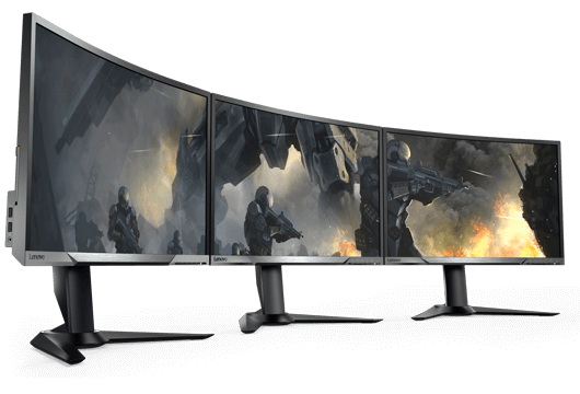 Gaming curved monitors