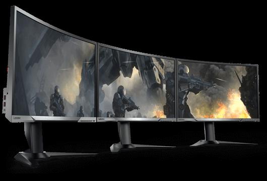Gaming curved monitors