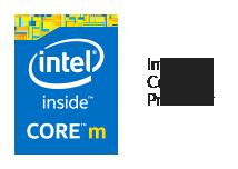 Logo du processeur Intel Core M