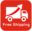 Free shipping for all your shoping!