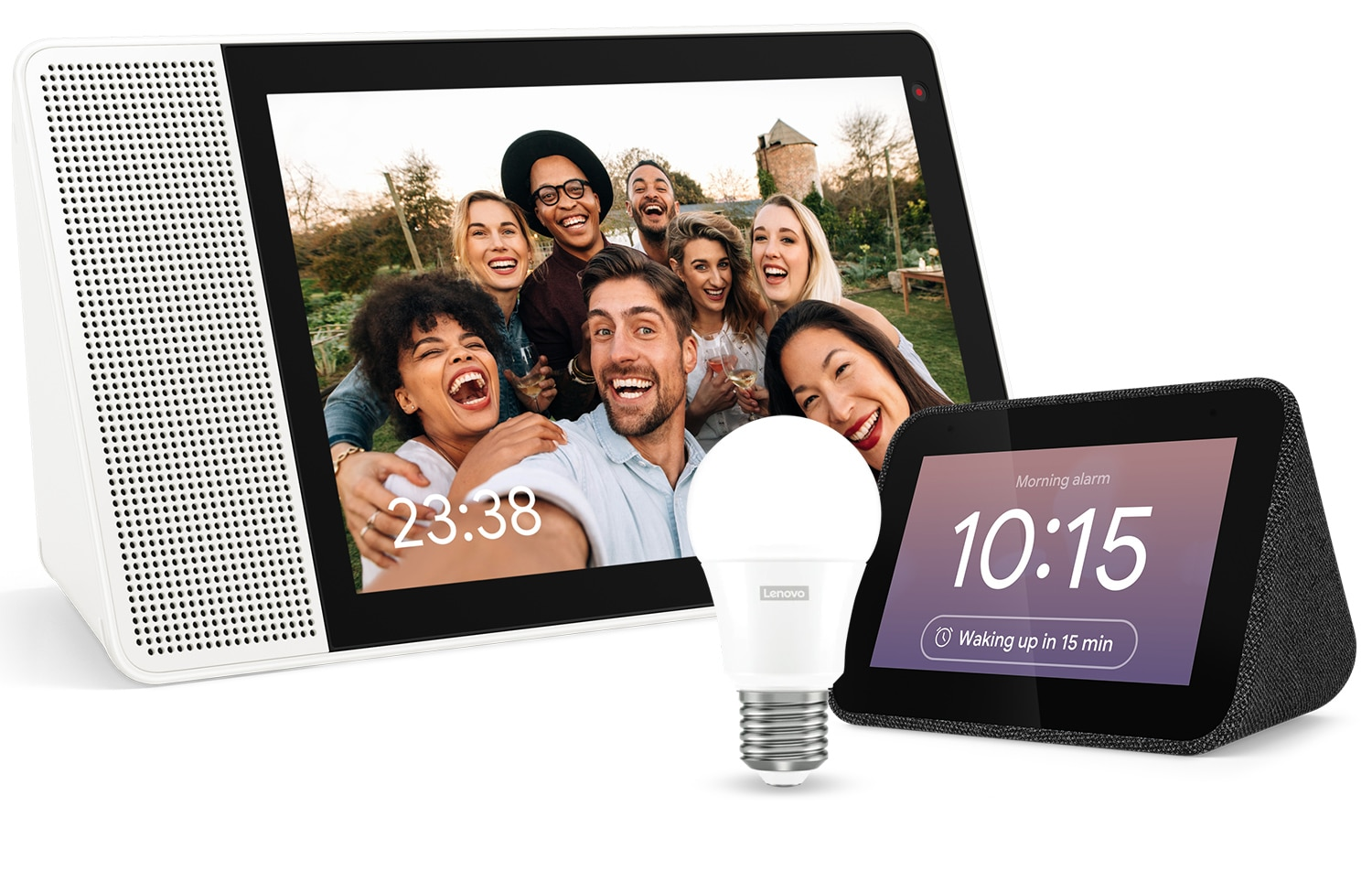 Lenovo Smart Home Products with Lenovo Smart Tab