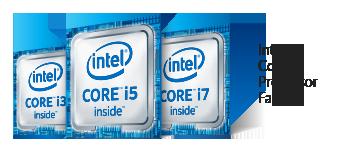 Logo de la famille de processeurs Intel Core