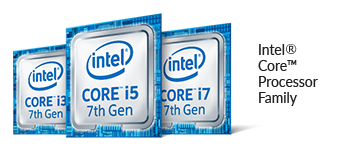 7th Gen Intel Core family processors logo