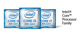 8th Gen Intel Core Processor Family Logo