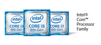 8th Gen Intel® Core™ i7 processor logo
