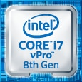Intel Core i7 vPro 8th Gen Logo