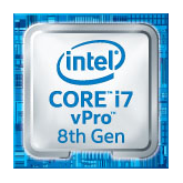 8th Generation Intel Core i7 with vPro