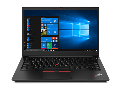 Lenovo ThinkPad E14 Gen 2 (AMD) laptop, front view, open