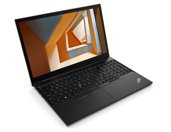 Lenovo ThinkPad E15 Gen 2 laptop, left-top angle