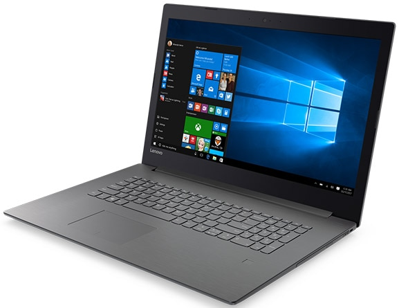 Lenovo V320 front right side view featuring Windows 10 Pro
