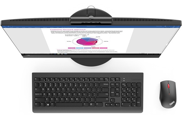 Slim and sleek, the Lenovo V530 AIO is designed to save you space and boost productivity.