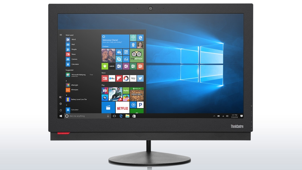 M900z AIO Desktop | Strong Yet Sleek Office Solution | Lenovo Australia