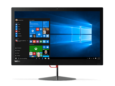 lenovo all in one thinkcentre x1 front
