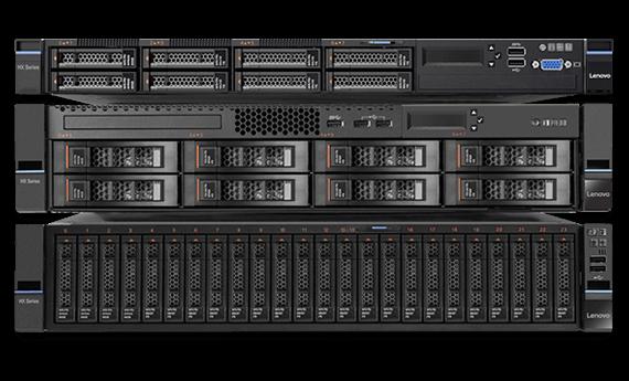 Série Converged HX de Lenovo