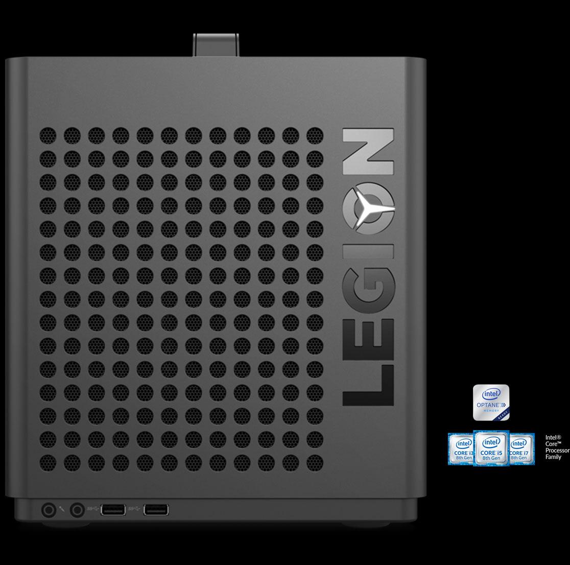 Lenovo Legion C530 ports.