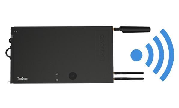 ThinkSystem SE350 connectivity options