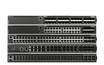 Lenovo Ethernet RackSwitch (ToR)