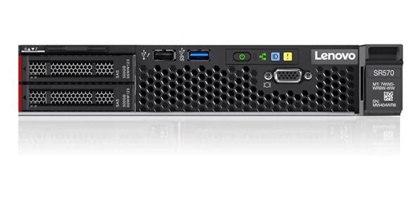 Lenovo ThinkSystem SR570 Ports and Drives