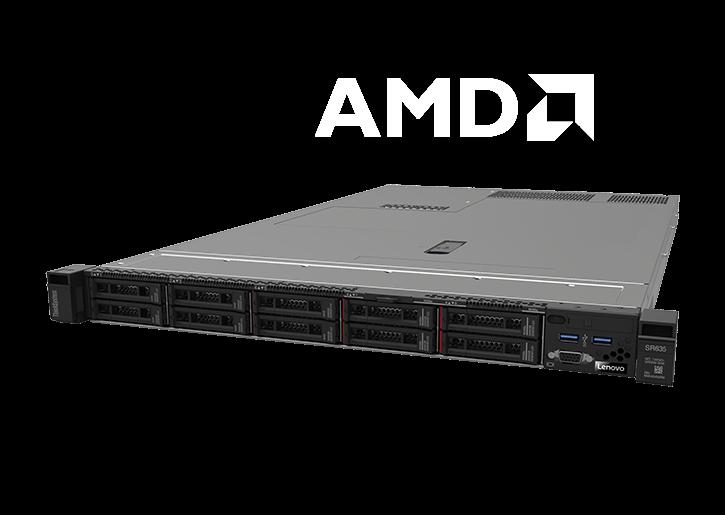 Baie de serveur Lenovo ThinkSystem SR635