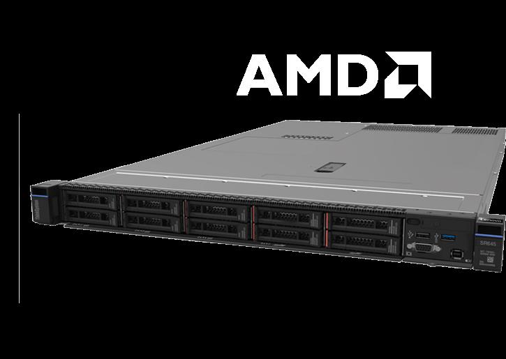 Baie de serveur Lenovo ThinkSystem SR645