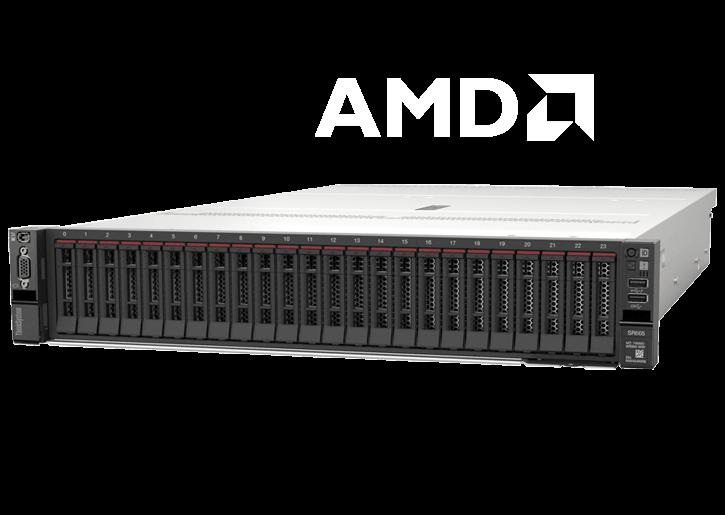 Baie de serveur Lenovo ThinkSystem SR665