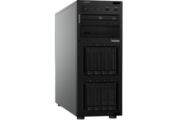 Lenovo ThinkSystem ST250 Models and Configurations