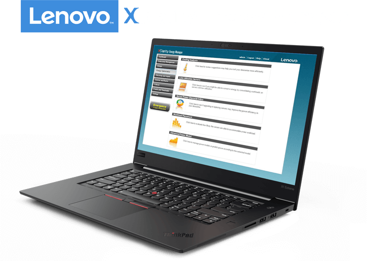 Lenovo XClarity Energy Manager Software