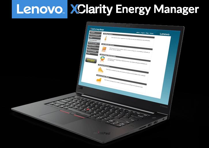 Logiciel Lenovo XClarity Energy Manager