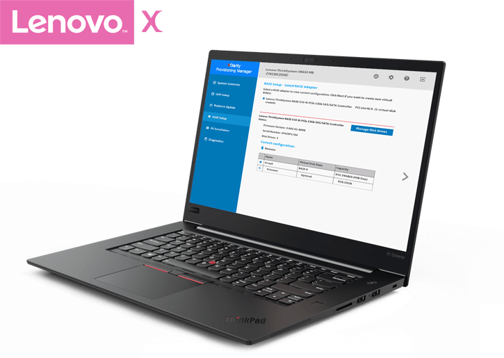 Lenovo XClarity Provisioning Manager Software