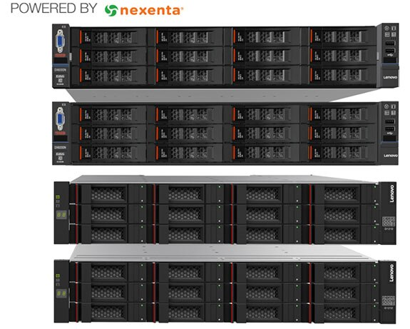 Lenovo Storage DX8200N Options