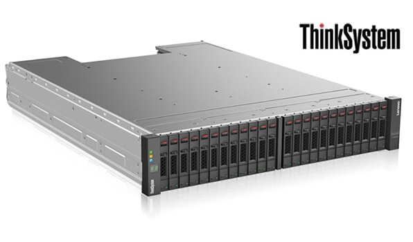 Lenovo ThinkSystem DS6200 Front Right Side View