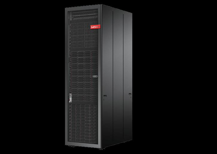 Lenovo ThinkAgile série SXN3000 avec support 42U
