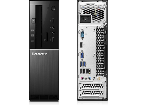 Lenovo Ideacentre 510s, front and back view