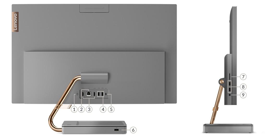 IdeaCentre AIO 5i (27) ports