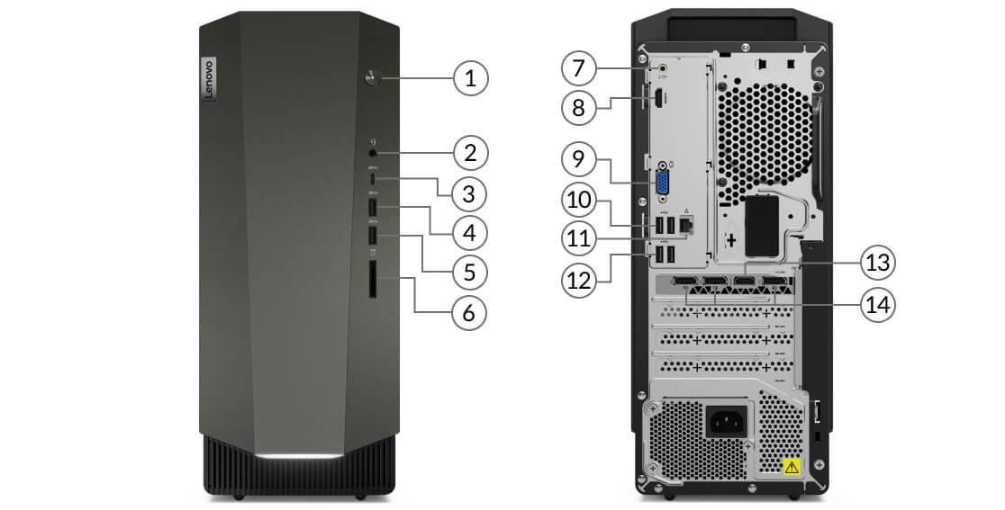 IdeaCentre Creator 5i ports