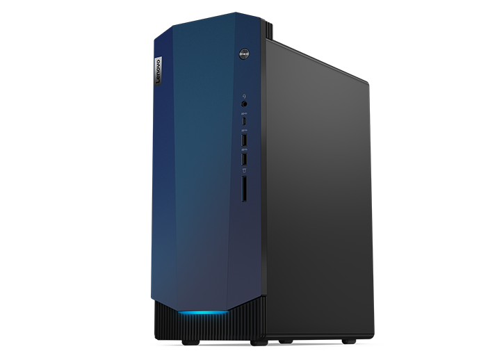 Lenovo IdeaCentre Gaming 5i desktop, front angle view