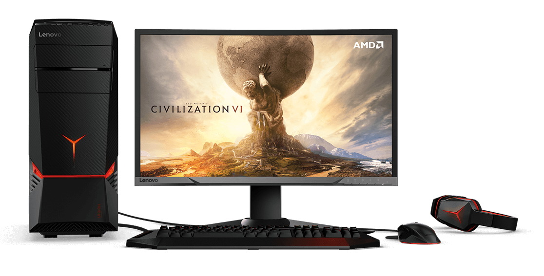 Lenovo Legion Y720 Tower - Gaming on the edge