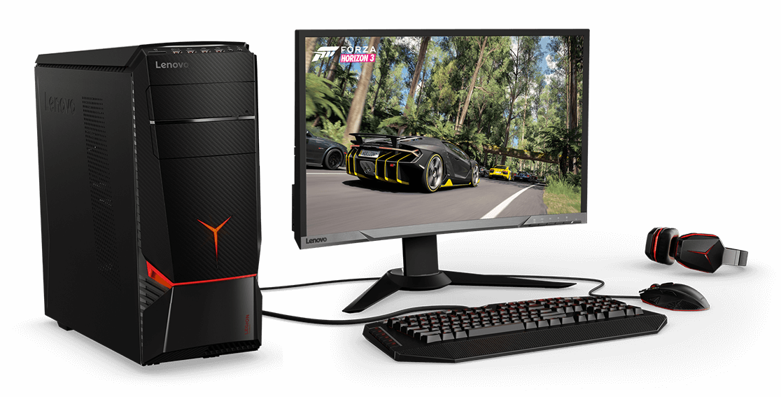 Lenovo Legion Y720 Tower, with gaming-specific peripherals