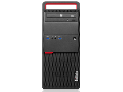 lenovo desktop thinkcentre m900 tower front